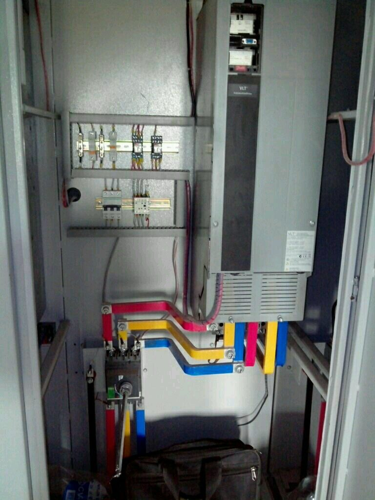 Dhanutronics Industrial Electronics Electical Control Panels Electronic Wiring Vfd Panel For Paper Mill Industry